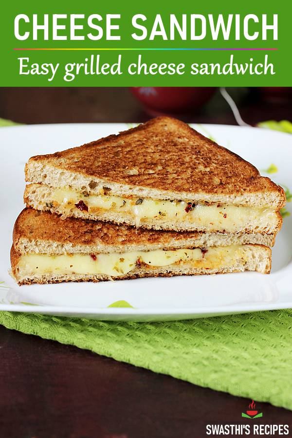 Cheese sandwich | How to make grilled cheese sandwich