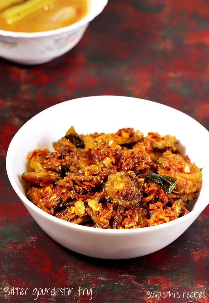 kakarakaya fry recipe