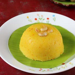 Milk rava kesari recipe | How to make milk kesari
