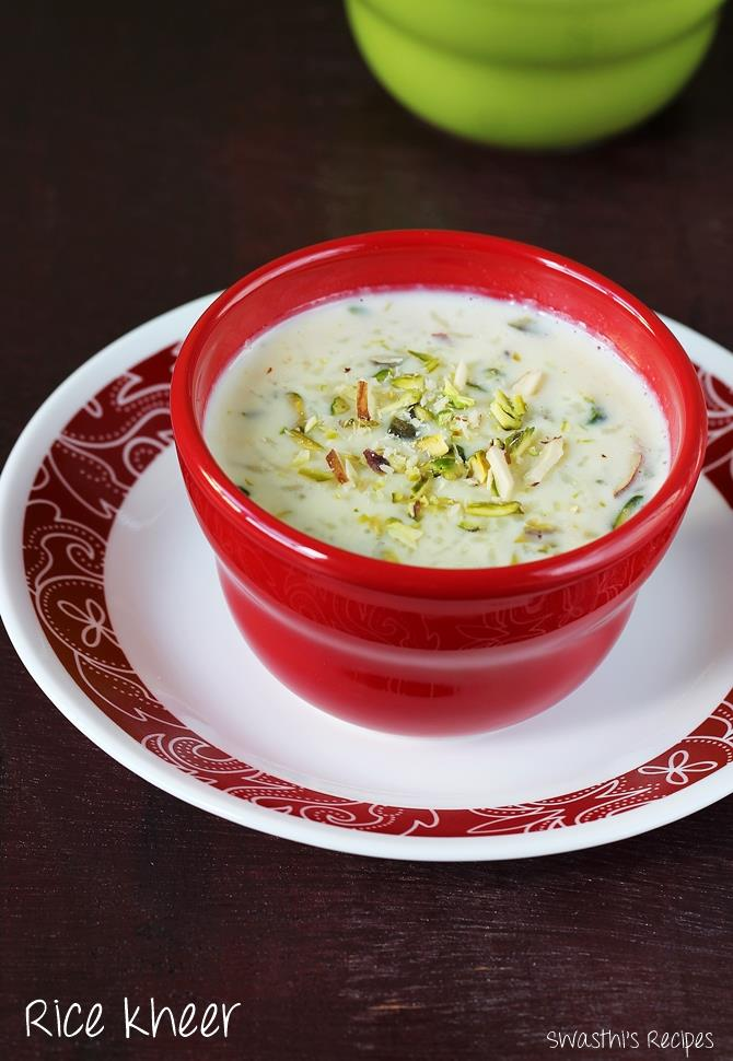 rice kheer recipe
