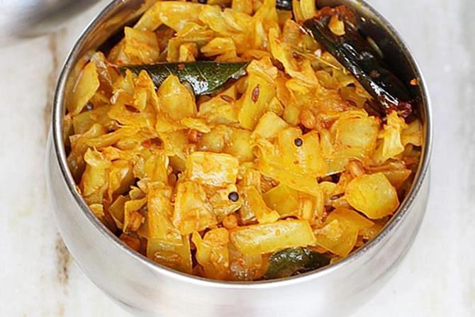 Cabbage Recipes Patta Gobhi Recipes Swasthi S Recipes
