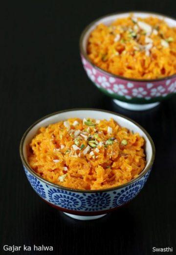 Gajar ka halwa with milkmaid or condensed milk | Gajar halwa recipe