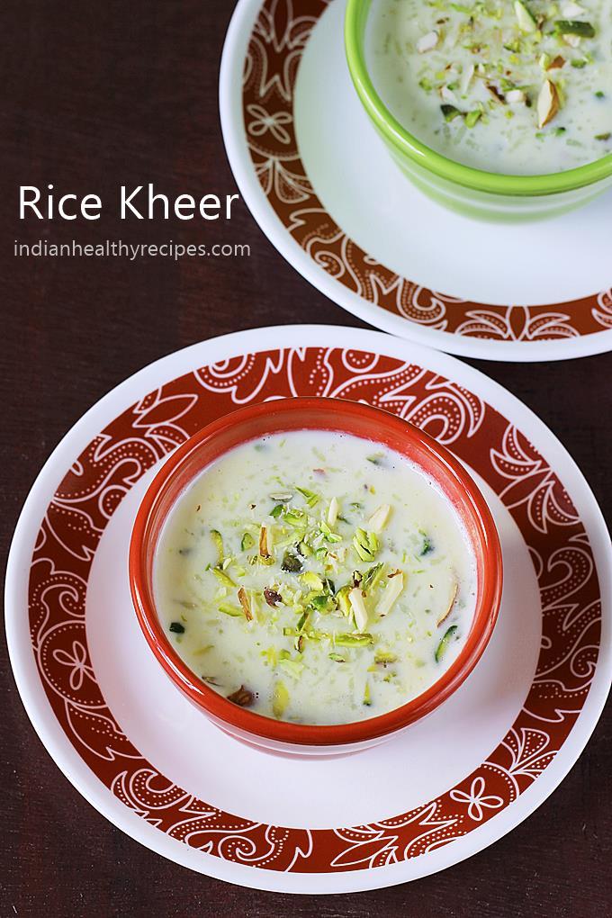 kheer recipe