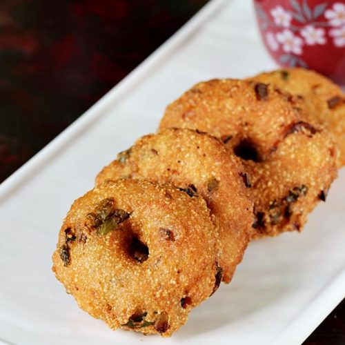 Rava vada recipe | How to make instant rava vada | Suji vada