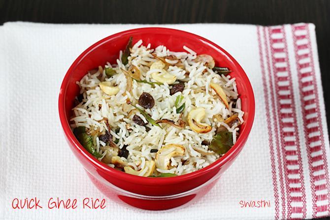 ghee fried rice recipe for kids
