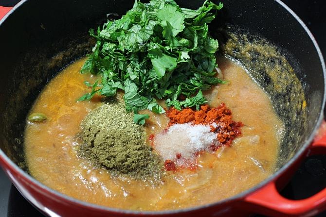 spice powders for tomato biryani recipe