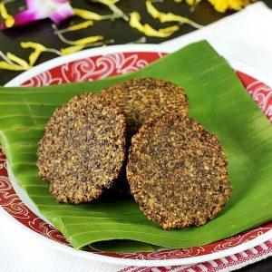 how to make vada with urad dal powder