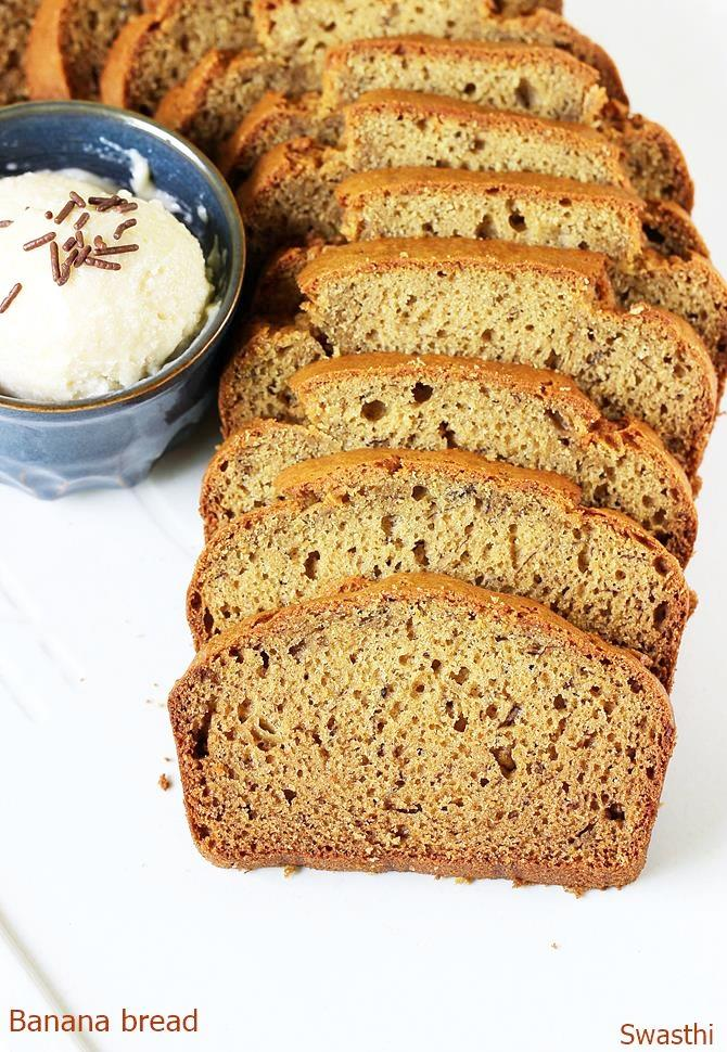 Banana Bread Recipe Video How To Make Banana Bread Banana Loaf