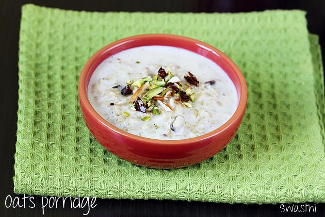 how to cook porridge oats