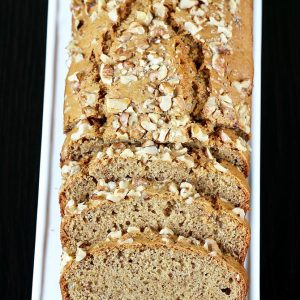 Eggless banana bread recipe video | How to make vegan banana bread