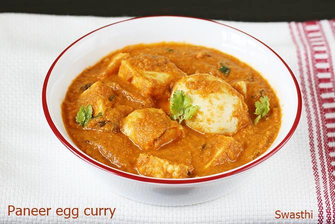 paneer egg curry recipe