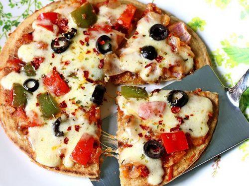 Tawa pizza without yeast