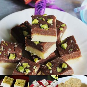 Barfi recipes | Burfi | Collection of 18 burfi or barfi recipes
