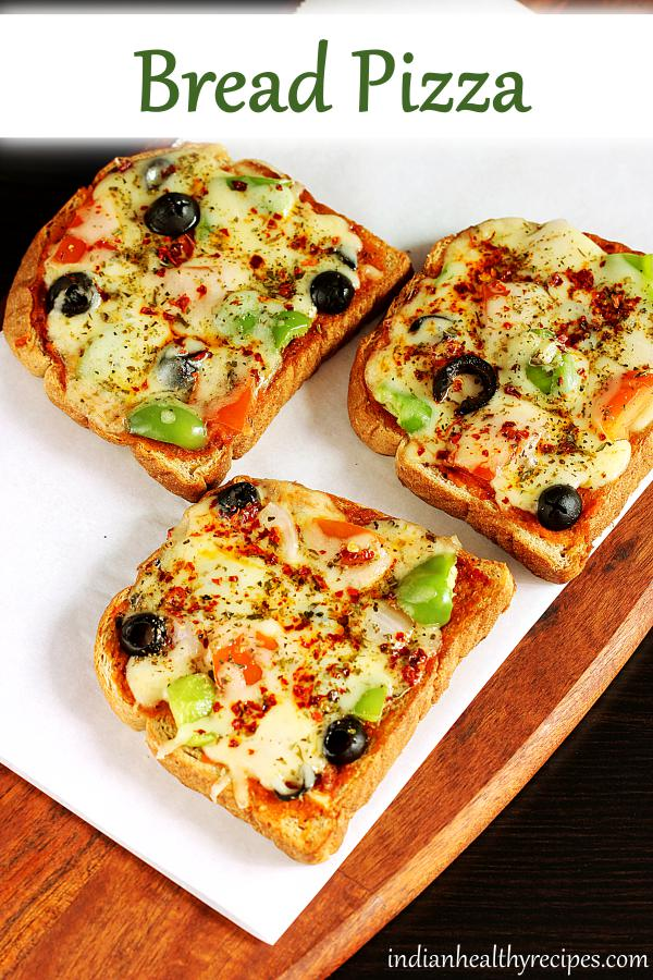 Bread pizza | How to make bread pizza