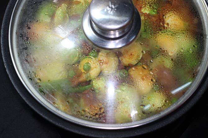 cook covered until tender