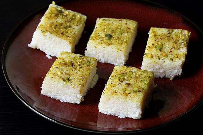 coconut barfi recipes
