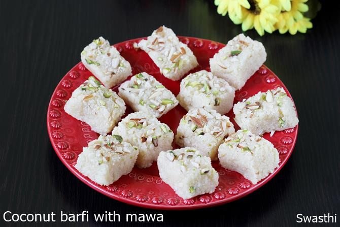 coconut burfi recipes