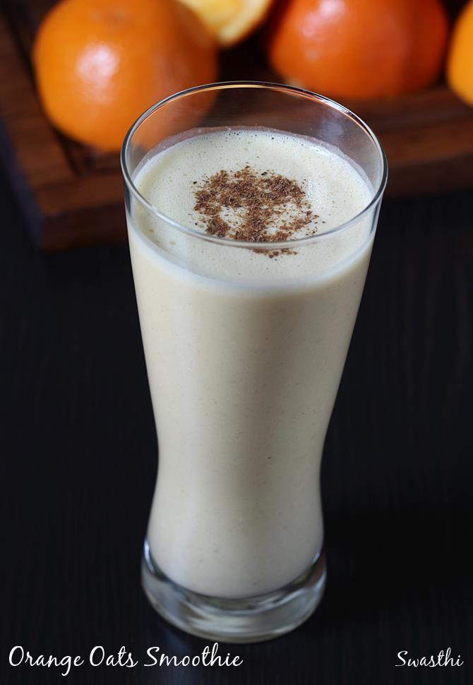 fruit oats smoothie recipe