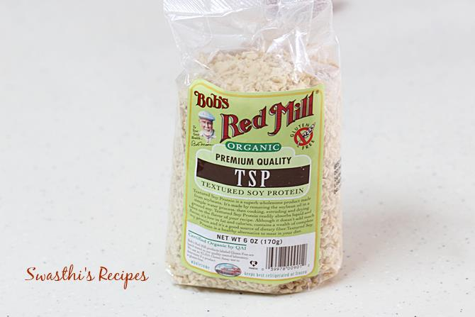 soya granules from Bob's Red mill