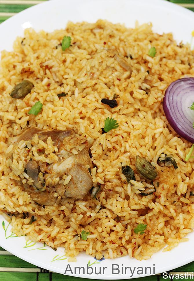 Ambur chicken biryani recipe video ambur star biryani tamilnadu ambur biryani may not be liked by those who are used to enjoying biryani made with basmati rice and a good amount of masala as i mentioned ambur biryani is forumfinder Images