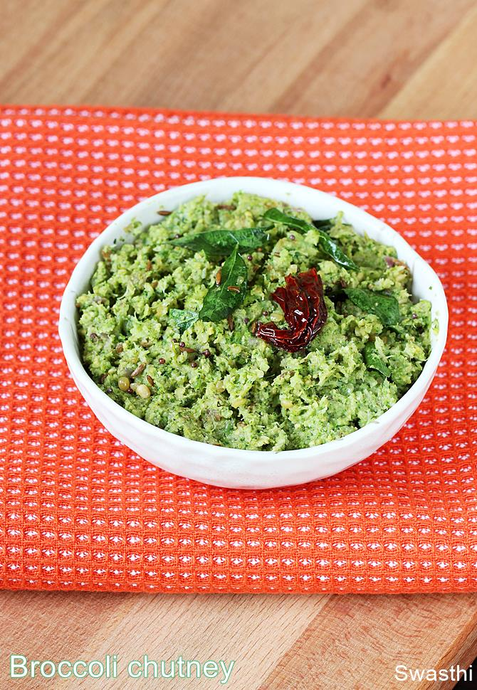 broccoli chutney recipe