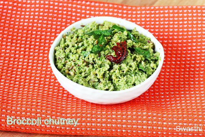 broccoli thogayal