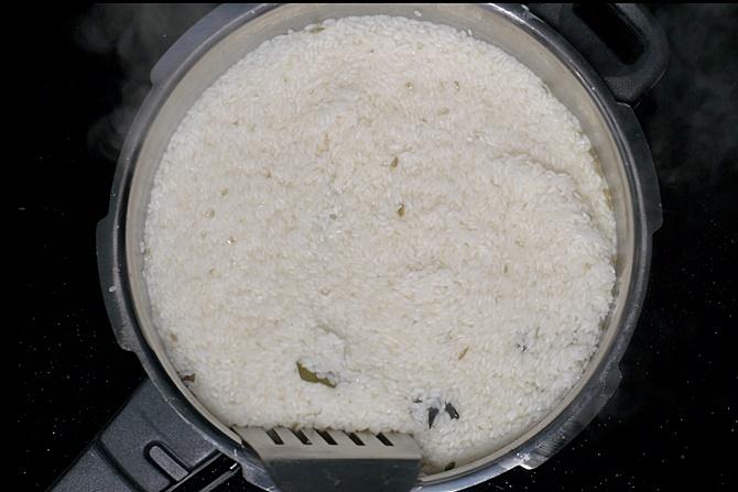 Cook on a medium heat