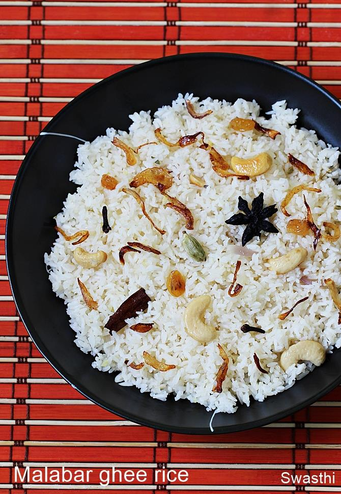 Kerala ghee rice recipe nei choru recipe malabar ney choru recipe kerala ghee rice recipe forumfinder Image collections