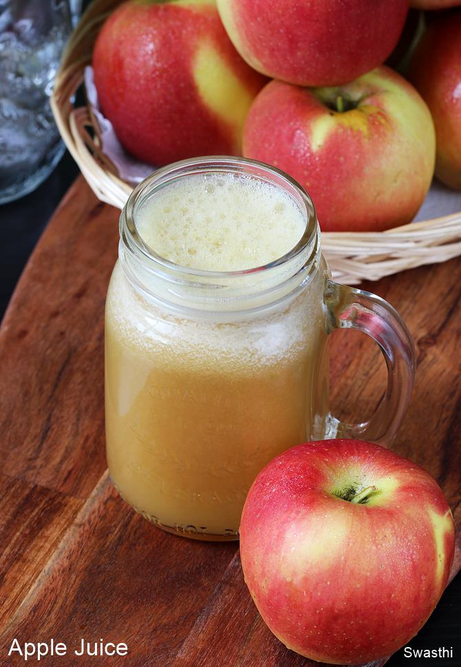 Apple Juice Recipe How To Make Apple Juice With Without A Juicer