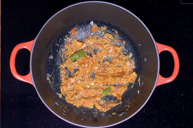 sauteing masala