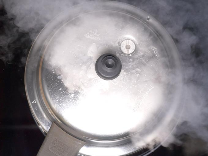Cook for 3 to 5 whistles