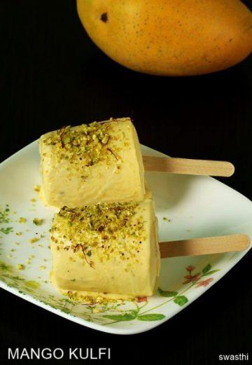 Mango kulfi recipe | How to make instant mango kulfi | No cook mango kulfi