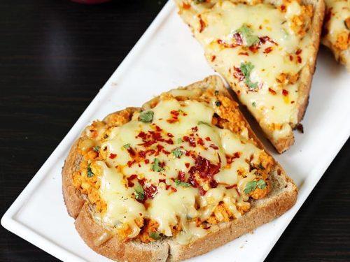 Paneer cheese toast recipe |  Paneer cheese sandwich