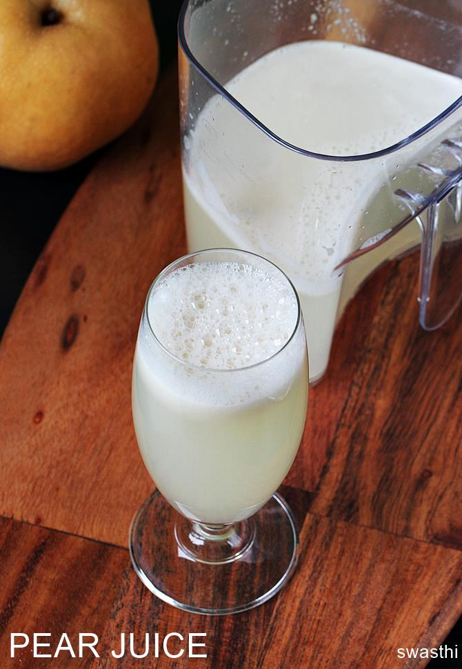 pear juice recipe