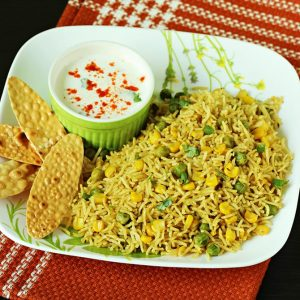 Corn pulao recipe video | Sweet corn rice pulao recipe