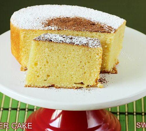 Butter Cake Recipe How To Make Butter Cake Soft Light Moist Cake Recipe