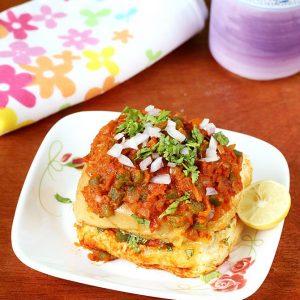 Masala pav recipe | How to make street style masala pav