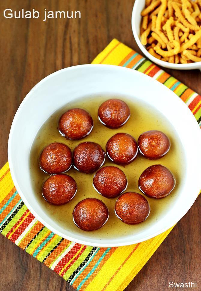 Khoya Gulab Jamun Recipe Gulab Jamun With Khoya Mawa