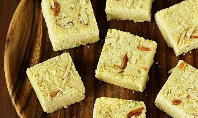 Rava burfi recipe | Suji barfi recipe | Diwali sweets recipes