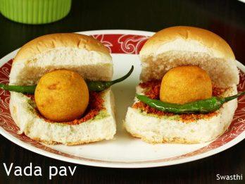 Vada Pav Recipe How To Make Vada Pav Indian Street Food Recipes