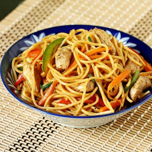 Chicken noodles | How to make Indo chinese chicken noodles
