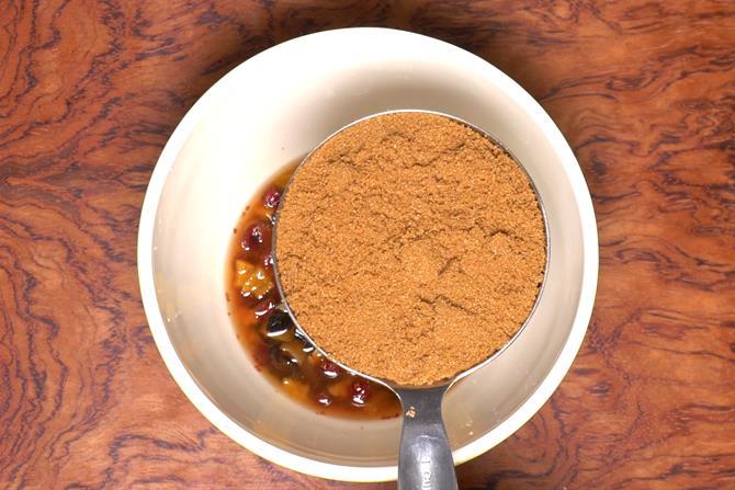 Add brown sugar