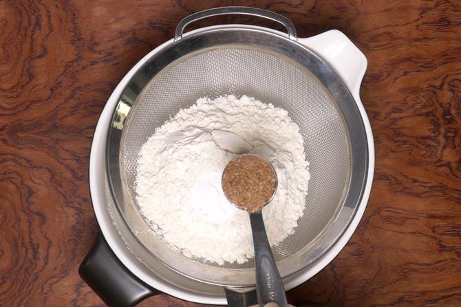 Add the spice powder