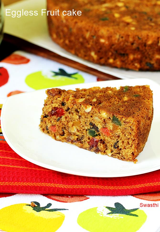 How To Make Fresh Fruit Cake Without Egg
