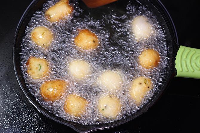 frying balls