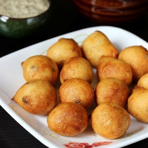 Urad dal bonda recipe | Minapappu punugulu