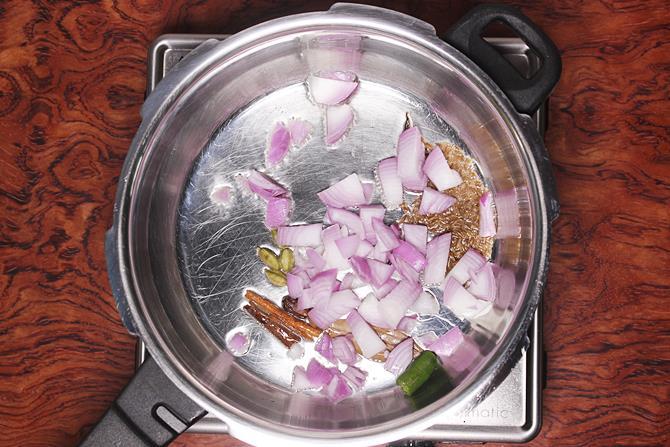 add chili & onions for tehri recipe