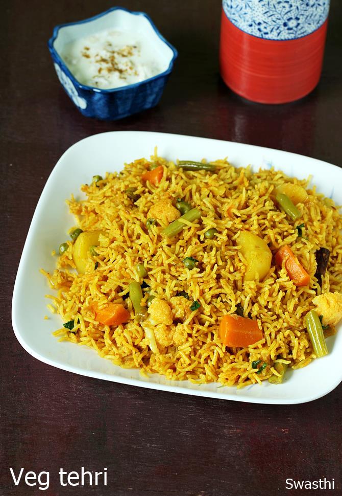 vegetable tahari