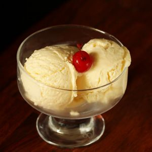 Custard powder ice cream recipe | Eggless custard ice cream