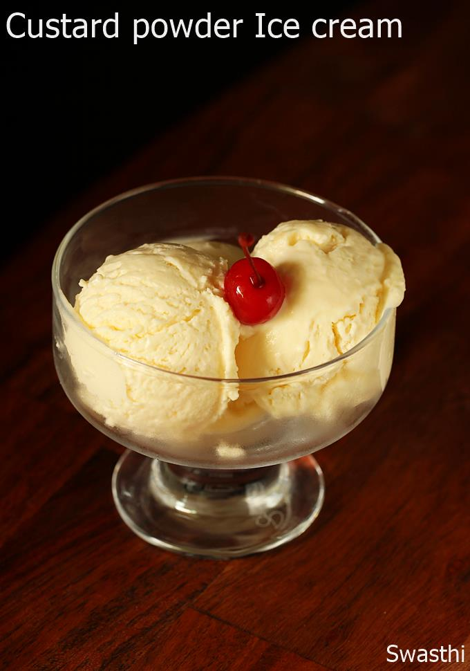 custard ice cream